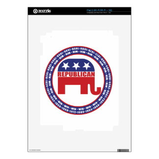 Republican Winning Years iPad 2 Decals