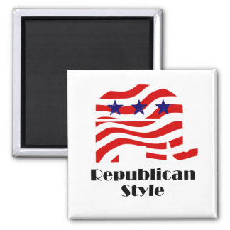 Republican with Style (2) Magnet