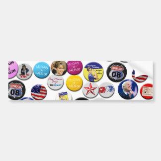 Republican Women for McCain Buttons Bumper Stickers