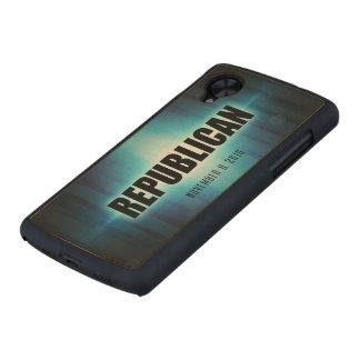 Republican Carved® Maple Nexus 5 Case