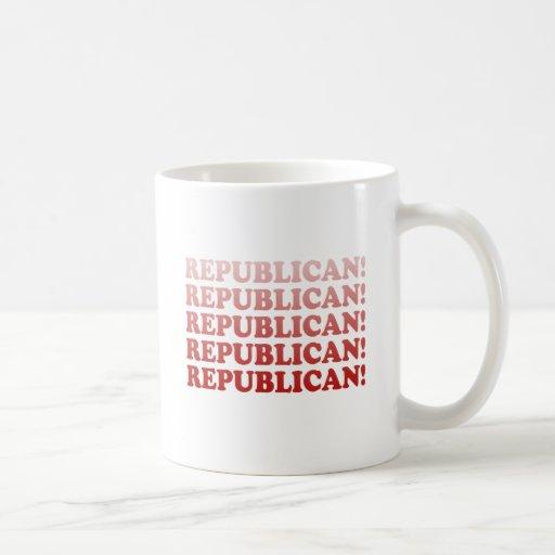 REPUBLICAN x 5 Classic White Coffee Mug