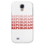 REPUBLICAN x 5 Samsung Galaxy S4 Case