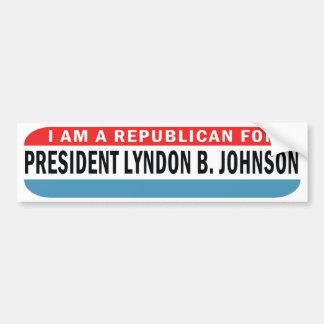 Republicano 1964 para la pegatina para el parachoq etiqueta de parachoque