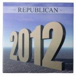 Republicano 2012 azulejo
