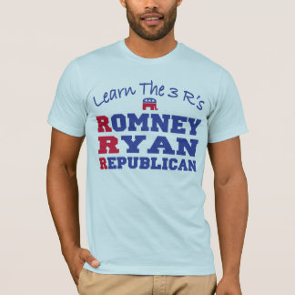 Republicano 2012 de Romney Ryan Playera