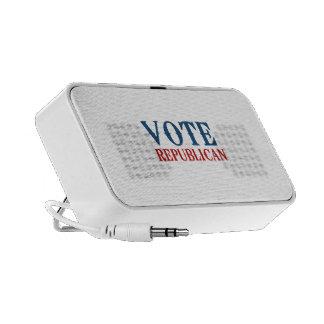 REPUBLICANO 2012 DEL VOTO LAPTOP ALTAVOZ