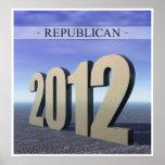Republicano 2012 impresiones