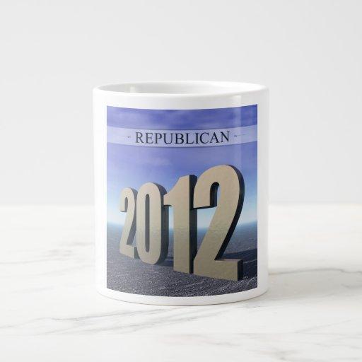 Republicano 2012 taza jumbo