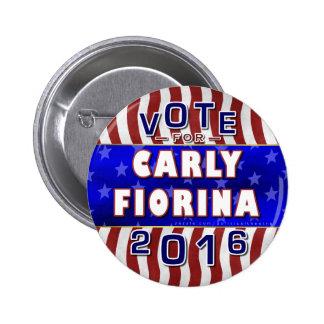 Republicano 2016 del presidente elección de Carly Pin Redondo 5 Cm
