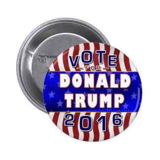 Republicano 2016 del presidente elección de Donald Pin Redondo 5 Cm