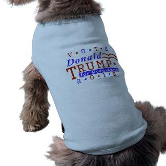 Republicano 2016 del presidente elección de Donald Playera Sin Mangas Para Perro