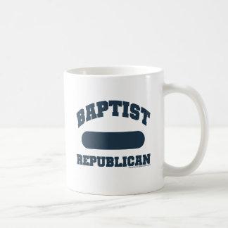 Republicano baptista taza de café