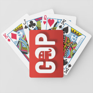 Republicano Baraja Cartas De Poker