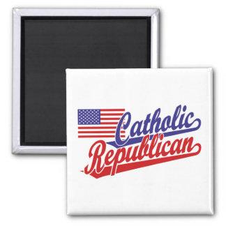 Republicano católico imán cuadrado