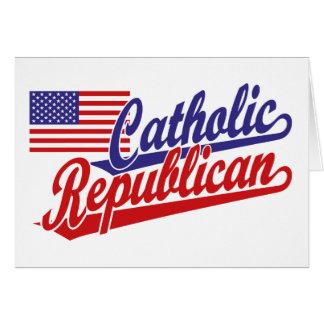 Republicano católico felicitación