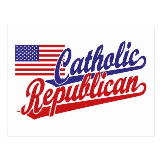 Republicano católico postal