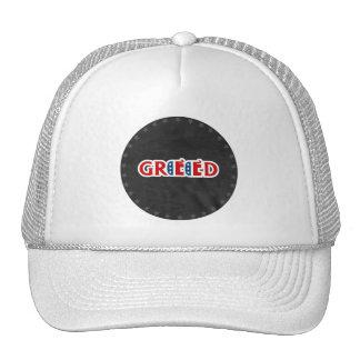 Republicano codicioso gorras