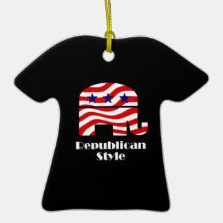 Republicano con estilo ornamento de reyes magos