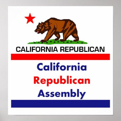 Republicano CRA de California Impresiones