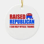 Republicano criado. Puedo ayudarme Ornamente De Reyes