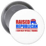 Republicano criado. Puedo ayudarme Pin