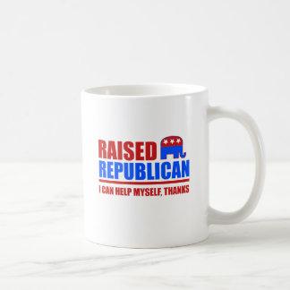 Republicano criado. Puedo ayudarme Taza