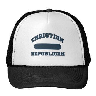 Republicano cristiano gorro de camionero