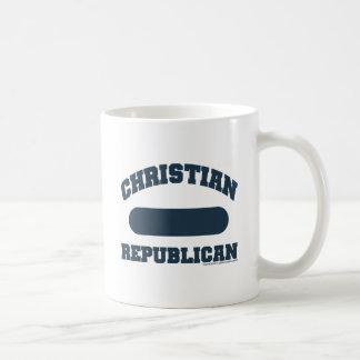 Republicano cristiano taza