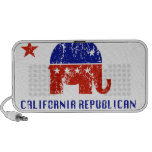 Republicano de California apenado Portátil Altavoz