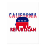 Republicano de California Tarjeta Postal