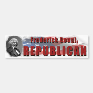 Republicano de Frederick Douglass Pegatina Para Auto