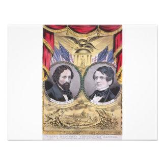 Republicano de Fremont 1856 - de Dayton Invitaciones Personalizada