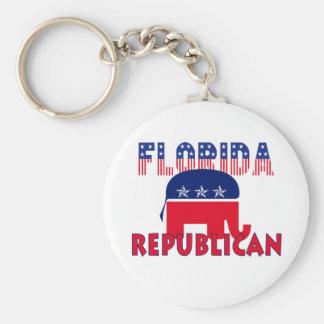 Republicano de la Florida Llaveros Personalizados