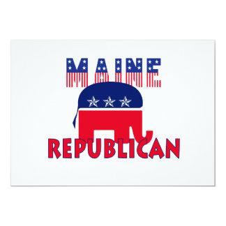 Republicano de Maine Anuncio Personalizado