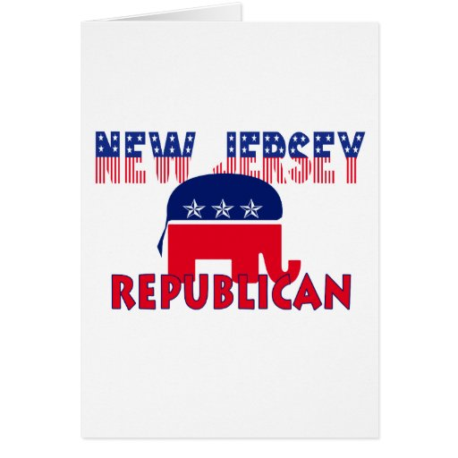 Republicano de New Jersey Felicitacion
