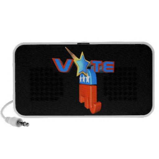 Republicano del voto altavoz de viajar