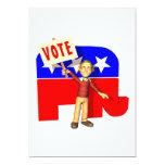 Republicano del voto comunicado personal