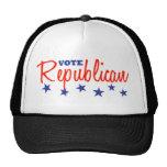 Republicano del voto (estrellas) gorro de camionero