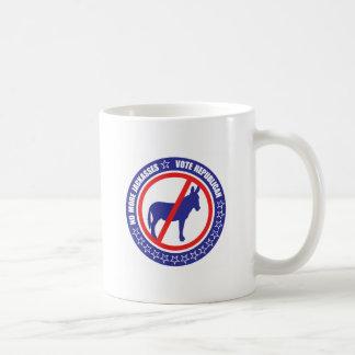 republicano del voto taza de café