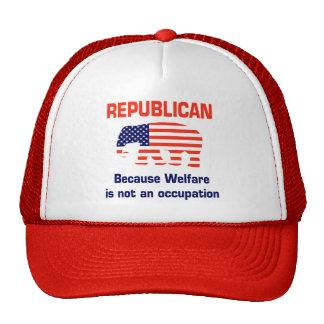 Republicano divertido - bienestar gorro de camionero