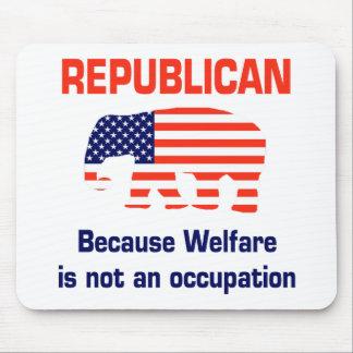 Republicano divertido - bienestar mouse pad