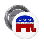 Republicano-Elefante Pins