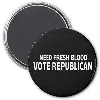 Republicano fresco del voto de la sangre de la nec imán para frigorifico