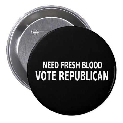 Republicano fresco del voto de la sangre de la nec pins