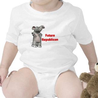 Republicano futuro trajes de bebé
