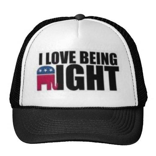 Republicano Gorros Bordados