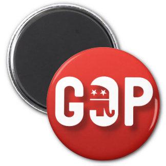 Republicano Imán Redondo 5 Cm