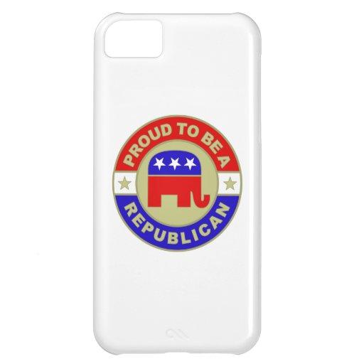 Republicano orgulloso funda para iPhone 5C