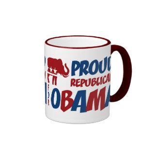 Republicano orgulloso para la taza del campanero d