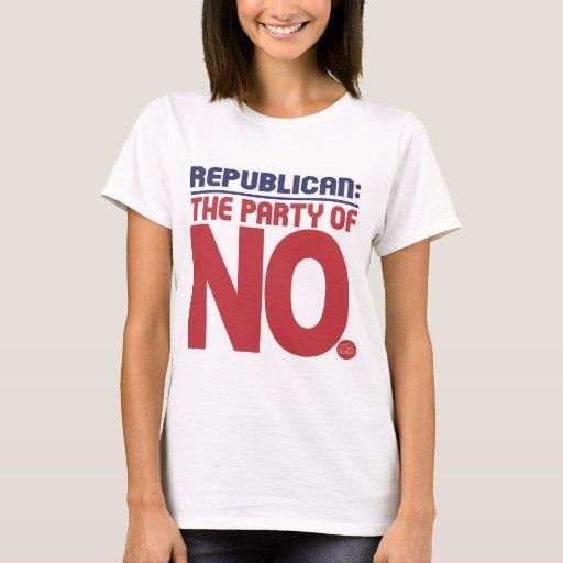 Republicano: ¡Parte de NO! Playera